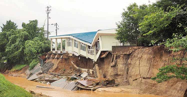 気候変動のリスク