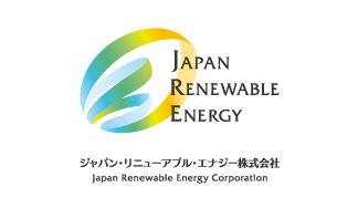 ジャパン・リニューアブル・エナジー株式会社 Logo